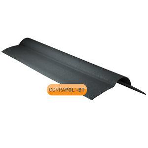 Corrapol-BT Black Bitumen Ridge piece (L)950mm (W)420mm