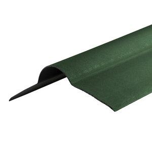 Image of Corrapol Green Bitumen Ridge capping (L)950mm (W)420mm