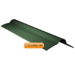 Corrapol-BT Green Bitumen Ridge piece (L)950mm (W)420mm