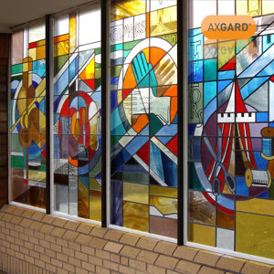 Image of AXGARD Clear Polycarbonate Flat Glazing sheet (L)2.05m (W)0.62m (T)2mm