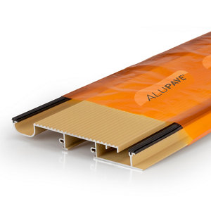 Image of Alupave Sand Flat roof & decking board (L)3m (W)220mm (T)25mm