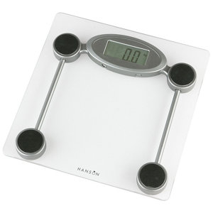 Image of Hanson Silver Electronic Bathroom scales
