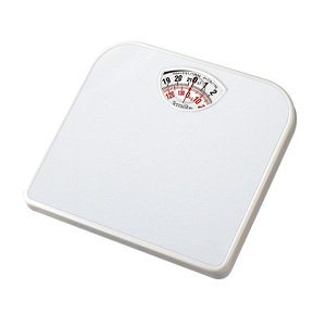 Image of Terraillon White Mechanical Bathroom scales