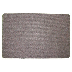 Image of Brown Polypropylene Door mat (L)0.6m (W)0.4m