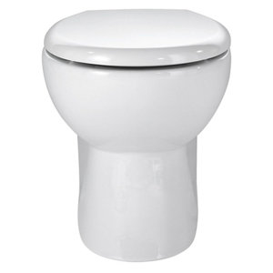 Image of Cooke & Lewis Tyler Back to wall Toilet with Standard close seat