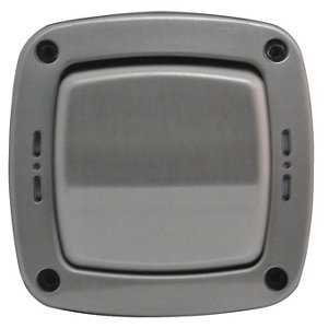 Image of Diall 20A 2 way Brushed Switch
