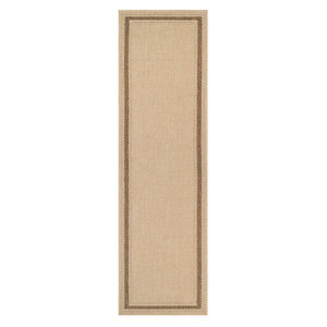 Image of Colours Kialash Beige Runner (L)2m (W)0.6m