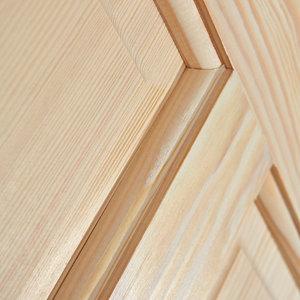 Image of 4 panel Clear pine LH & RH Internal Door (H)2040mm (W)726mm