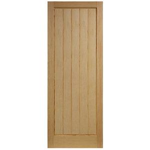 Image of Cottage Clear pine LH & RH Internal Door (H)1981mm (W)838mm