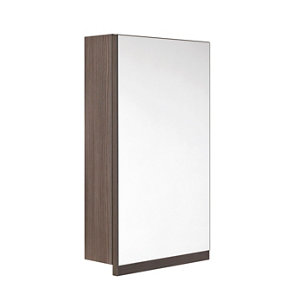 Image of Cooke & Lewis Ardesio Bodega grey Mirrored Cabinet (W)360mm (H)627mm