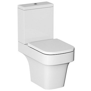 Image of Cooke & Lewis Caldaro Contemporary Close-coupled Toilet with Soft close seat