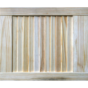 Image of Pine LH & RH Internal Louvre Door (H)457mm (W)381mm