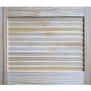 Image of Pine LH & RH Internal Louvre Door (H)457mm (W)533mm