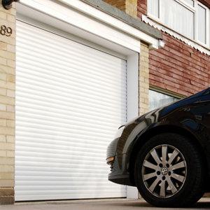 Image of Insuglide Made to measure Framed White Roller Garage door
