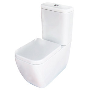 Image of Cooke & Lewis Affini Contemporary Close-coupled Toilet with Soft close seat