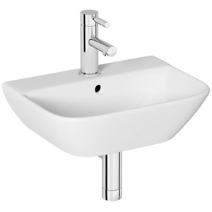 Image of Cooke & Lewis Lanzo Square Wall-mounted Cloakroom Basin