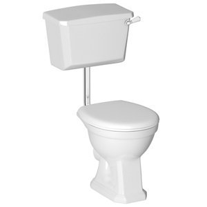 Image of Cooke & Lewis Serina Traditional Toilet with Soft close seat