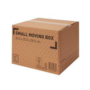 Image of Cardboard Moving box (H)285mm (L)355mm (W)355mm