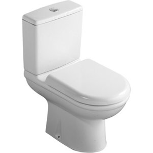 Image of Ideal Standard Della Close-coupled Toilet with Soft close seat