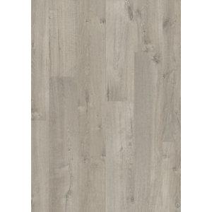 Image of Aquanto Natural Gloss Oak effect Laminate Flooring Sample