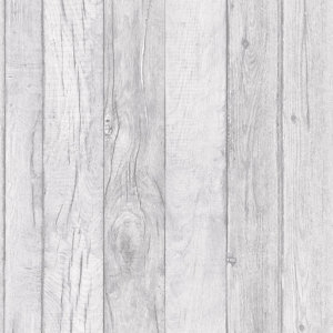 Image of Ideco Home Ideco home Grey Wood effect Smooth Wallpaper
