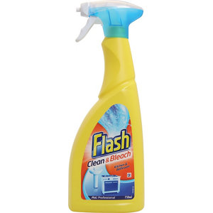 Image of Flash Clean & Bleach Cleaning spray 750ml