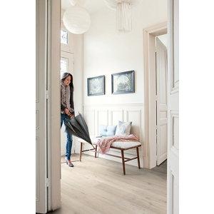 Image of Aquanto Light grey Laminate Flooring Sample