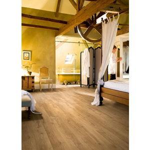 Image of Aquanto Natural Oak effect Laminate Flooring Sample