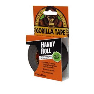 Image of Gorilla Black Duct Tape (L)9m (W)25.4mm