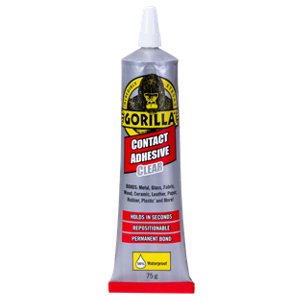 Image of Gorilla Clear Liquid Contact adhesive