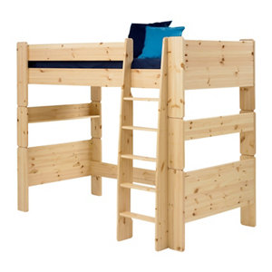 Image of Wizard Pine effect High sleeper bed