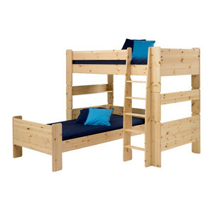 Image of Form Wizard Pine effect Single Bed frame (H)625mm (W)2060mm