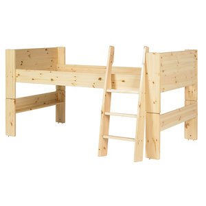 Image of Wizard Pine effect Single High sleeper bed extension kit