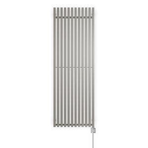 Terma Triga Vertical Designer Radiator Metallic stone (W)580mm (H)1700mm