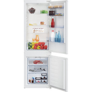 Image of Beko ICQFD373 70:30 White Integrated Fridge freezer