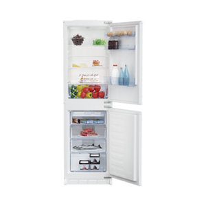 Image of Beko ICQFD355 50:50 White Integrated Fridge freezer