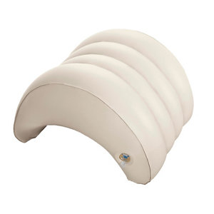 Image of Intex Cream Plastic Spa headrest