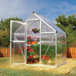 Palram Mythos 6x4 Polycarbonate Apex Greenhouse