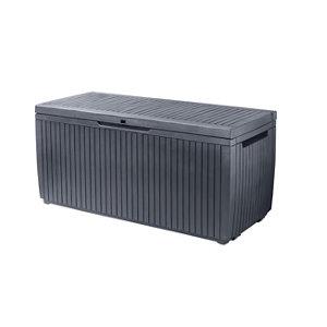 Keter Springwood Plastic Garden storage box
