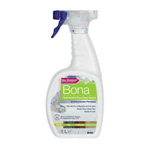 Image of Bona Anti-bacterial Hard floor cleaner 1L
