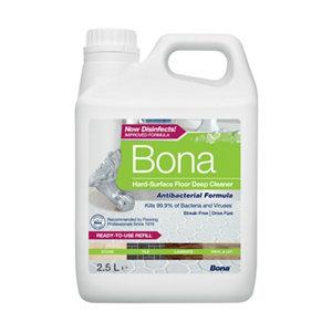 Image of Bona Anti-bacterial Hard floor cleaner 2.5L