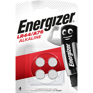 Image of Energizer Specialty Non-rechargeable LR44 Battery Pack of 4