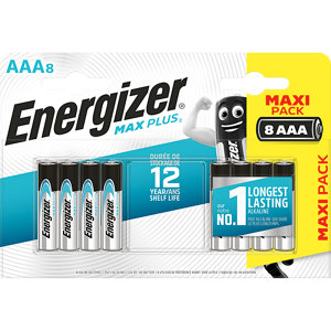 Image of Energizer Alkaline Non-rechargeable AAA Battery Pack of 8