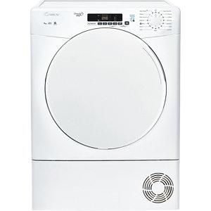 Candy CS C9DF White Freestanding Condenser Tumble dryer 9kg
