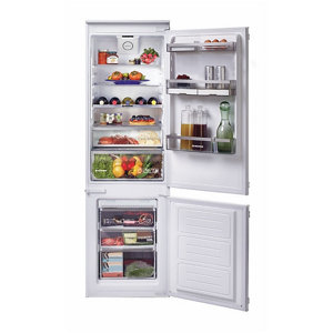 Image of Hoover BHBF172NUK 60:40 American style White Integrated Fridge freezer
