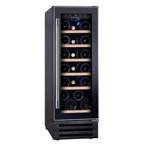 Image of Hoover Black Wine cooler