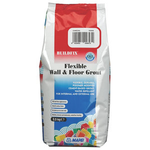 Image of Mapei Flexible Charcoal Wall & floor Grout 2.5kg