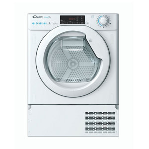 Image of Candy BCTDH7A1TE-80 White Built-in Heat pump Tumble dryer 7kg