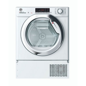 Image of Hoover BATD H7A1TCE-80 White Built-in Heat pump Tumble dryer 7kg