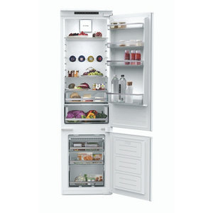 Image of Hoover BNBF 192 FK 60:40 American style White Integrated Fridge freezer